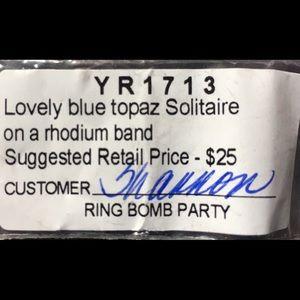 Size 9 Blue Topaz